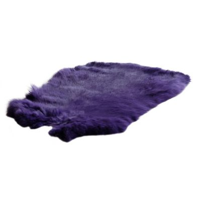 Konijnenvacht paars